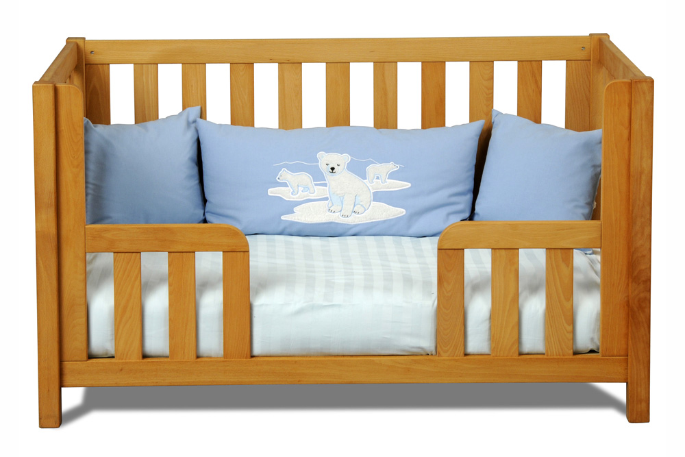 babybett listo natur kinderm bel m nchen salto babybett aus massivholz mit austauschseite. Black Bedroom Furniture Sets. Home Design Ideas