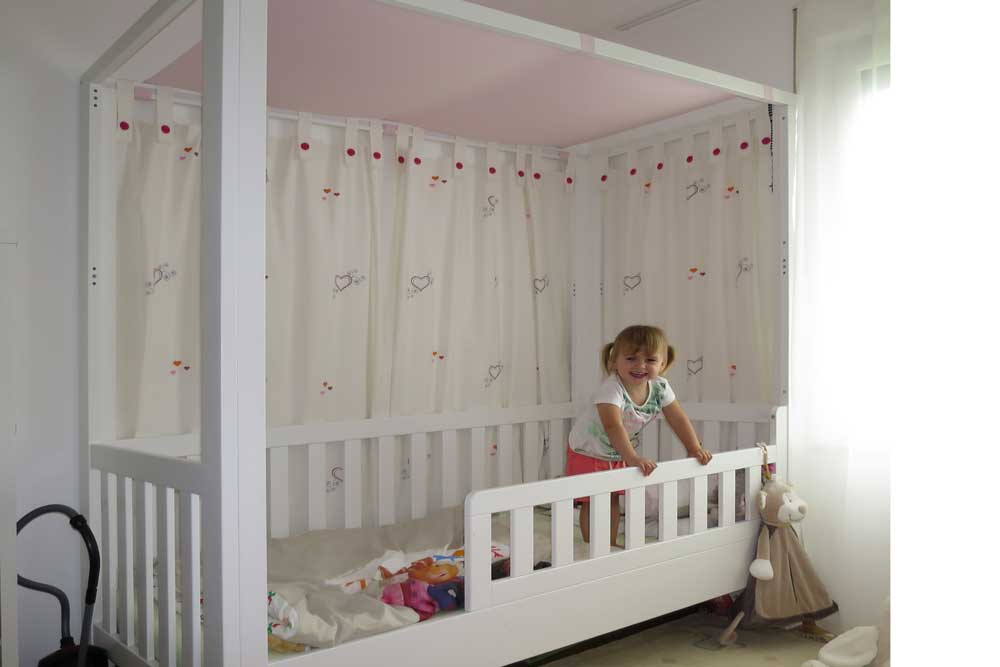 himmelbett kinderzimmer design. Black Bedroom Furniture Sets. Home Design Ideas