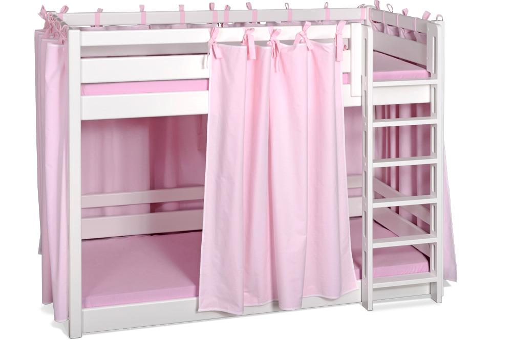 Etagenbett Verschönern : Etagenbett picco 180 aus weiß lackiertem buchenholz kindermöbel